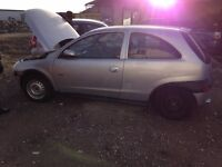 BREAKING VAUXHALL CORSA CAR PARTS SPARES 2000-2006 MODEL