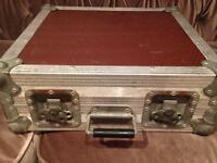 Flight case - fits Mackie 1608 / pedals / cables etc