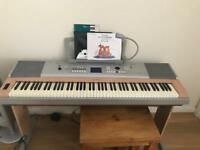 Yamaha DGX 620; 88 weighted keys for sale