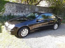 Mercedes CLK220 Elegance, diesel, auto