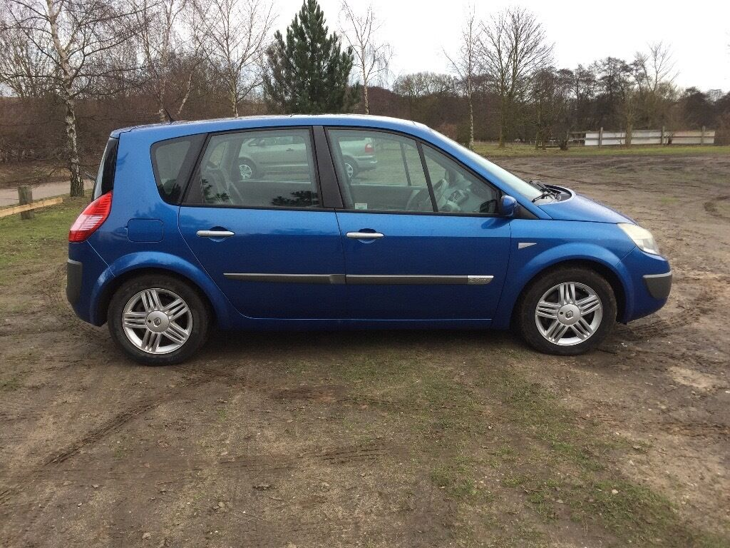 2004 renault megane scenic 2 0 mot january 2018 air conditioning in ipswich suffolk gumtree. Black Bedroom Furniture Sets. Home Design Ideas