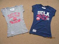 NEW UCLA Womens t shits Lot Size UK 8