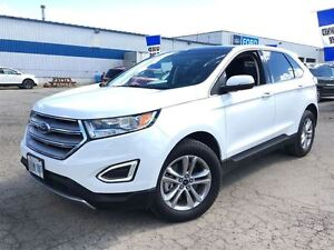 2016 Ford Edge SEL w/Navigation, Leather< Panoramic Roof & Blind