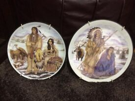 Native Indian Decorative Plate's.