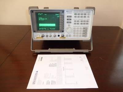 Agilent Hp 8560e 30hz - 2.9ghz Spectrum Analyzer With Tracking Generator Cald