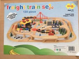 Freight Train Set with Big Red powered train.