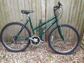 Ladies adult cycle 21 speed twist grip gears good condition ready to ride will deliver locally free
