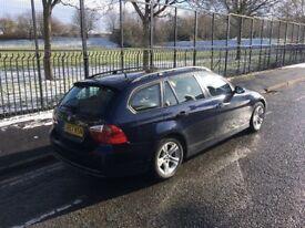 2007 BMW 318D SE TOURING TURBO DIESEL 6 SPEED MANUAL ESTATE BLUE