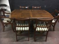 Fabulous large dining suite with 6 chairs