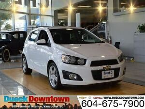 2016 Chevrolet Sonic LT -Original MSRP $ 24,560