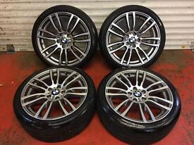 19'' GENUINE BMW 3 SERIES F30 F31 F32 403 STYLE 4 M SPORT E90 ALLOY WHEELS TYRES 5X120