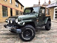 Jeep Wrangler 4.0 Sahara Hard Top 4x4 3dr p/x welcome*FULL S/H**6 MONTHS WARRANTY* 1998 (R reg), SUV