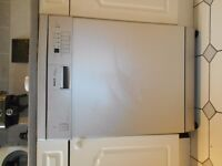 Bosch full size under counter dishwasher can be viewed still running if required.