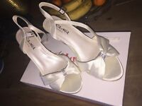 Wedding ivory shoes