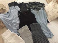 Maternity clothing bundle size 12/M