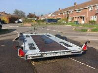 Car trailer brain James twin axle