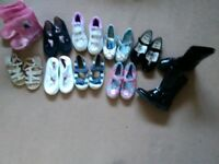 Girls bundle shoes footwear size 10 1x pair size 9 collect ml5