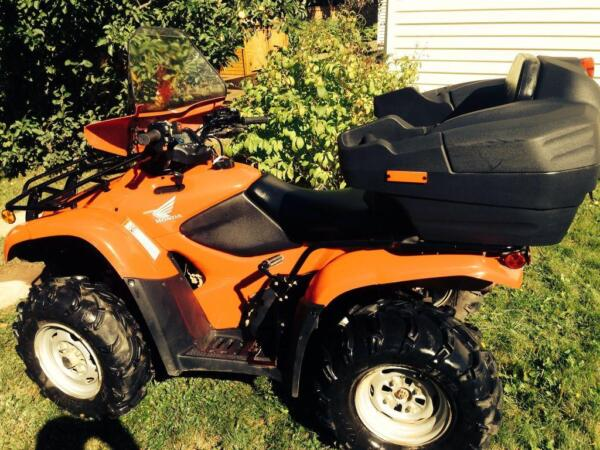 Used 2009 Honda TRX420 honda trail edition