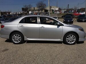 2010 Toyota Corolla S -PKG Alloys Sunroof Power PKG Kitchener / Waterloo Kitchener Area image 9