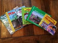 Vehicle Related books - Thomas the Tank, Roary the Car.