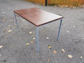 Walnut Veneer Dining Table 130cm FREE DELIVERY 393