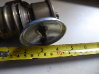 lovely old collectible vintage Brass rubber carbide Miners Lamp