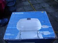 Cooking pan by Kenwood, electric, never used, complete with instructions