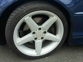 Ac schnitzer concave 18inch 5x120 bmw wheels
