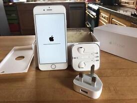 Silver iPhone 6, 64Gb, unlocked