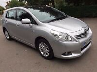 2010 TOYOTA VERSO V-MATIC 1.6 PETROL, 7 SEATER MPV 1 OWNER, HPI CLEAR, 1 YEAR MOT, FINANCE AVAILABLE