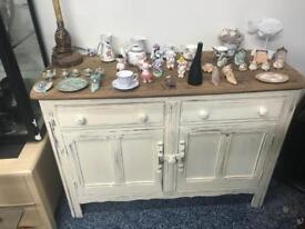 Ercoll cream upcycled sideboard