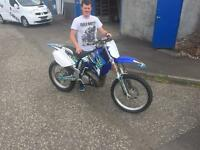 Yz 250 motocross bike
