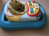 Chicco baby Walker with removable playtray