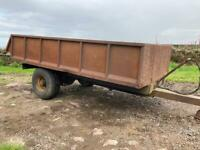 Single Axle Dump Trailer