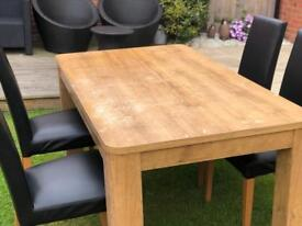 NEXT Table and sideboard
