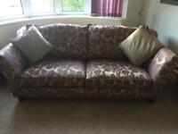 Sofa and chair of Hopewells Nottingham