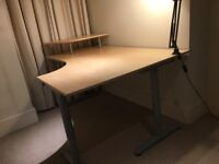 Good sized computer desk for sale