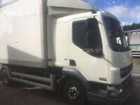 2012 daf LF 71/2 ton Fridge/ Tipper Lorry