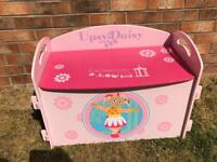 Girls Wooden Toy Box