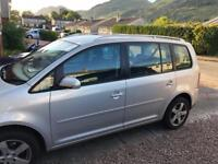 VW Touran silver 7 seater