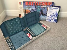 """Original """"MB games"""" Battleship game"""