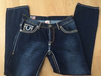 True religion mens jeans size 34 waist new no tags
