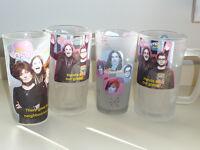 Ozzy Osbourne family drinking glasses