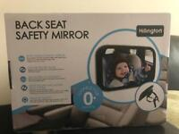 Back seat safety mirror