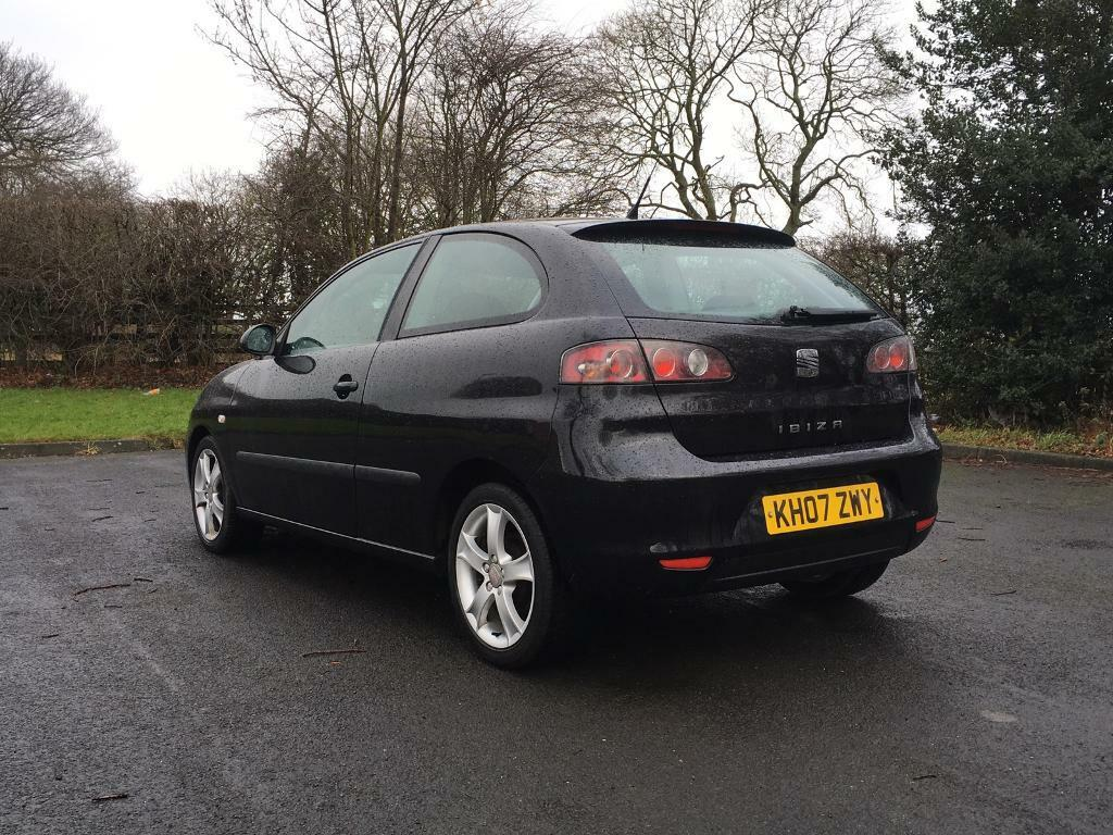 seat ibiza 1 4 sport 2007 in leeds west yorkshire gumtree. Black Bedroom Furniture Sets. Home Design Ideas