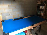 Pool Table 4ft 6in folding