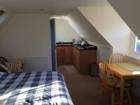 Quiet Location for a studio flat. Private entrance. Safe parking. All bills included.