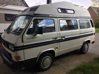VW CAMPER VAN AUTOSLEEPER ..4 BERTH Last owner 12 +years superb van lot's of extras.