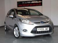 FORD FIESTA 1.6 ZETEC S 3d 118 BHP ***IMMACULATE!*** (silver) 2009