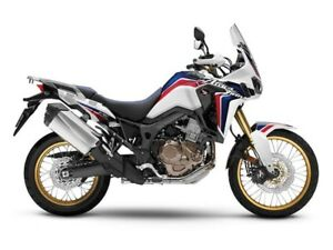 2017 Honda Africa Twin DCT  Tri Colour White / Red / Blue